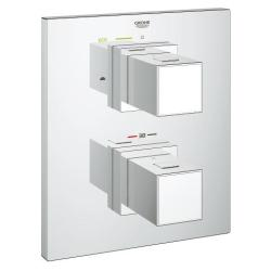 Grohe Grohtherm Cube Thermostat With Integrated 2-way Diverter For Bath Or Shower With More Than One Outlet-19958000 00fb29ef-8dda-3f0c-564d-694d84178c34