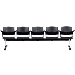 Advanta Tempo 5 Seat Beam – Pp Seat & Back Advanta-TEMPO-5-Seat-Beam_PP_With-arms-1.jpg