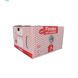 Finolex UTP 4 Pair Cat 6 LAN cable Grey Finolex UTP 4 Pair Cat 6 LAN cable Grey 32245048
