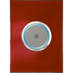 Legrand Myhome Automation Lighting & Motor Control Legrand_Arteor_Automation_1-Gang-Round-Switch-with-Light-Icon_Mirror-Red-_-White.jpg