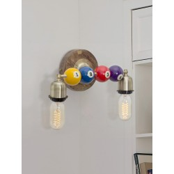 Fos Lighting Snooker Double Wall Sconce snooker-wl2_6__2