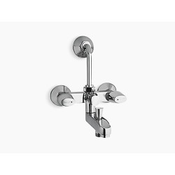 Kohler Sirocco Exposed bath and shower faucet with diverter for showerhead and handshower  KohlerSirocco Exposed bath and shower faucet with diverter for showerhead and handshower  K-16298IN-9-CP