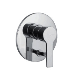 Fima F3539x2 Single Lever Bath and Shower Mixer for Concealed Installation with 2 Outlets Diverter Fima F3539x2 Single Lever Bath and Shower Mixer for Concealed Installation with 2 Outlets Diverter F3539X2