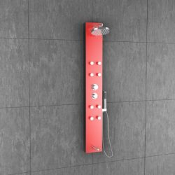 Jaaz Olive Red Shower Panel Olive-Red-600x600