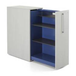 Steelcase High Density Storage with Shelf and Mirror
