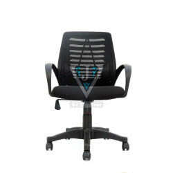 VJ Interior Executive Task Chair Medium Back In Black Color (the Pluma) VJ-801-1200x1200.jpg