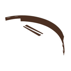ACME Arboredge (3/16″) – Brown 635122_Tree_Ring_14GA_Painted_Brown_SectionWithStakes_Main.jpg