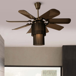Fanzart Dark Shadow – Modern High Tech Ceiling Fan dark-shadow