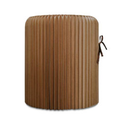 Andso TWISTY BROWN STOOL Andso TWISTY BROWN STOOL
