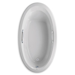 American Standard 70 Inch by 38 Inch Oval Bathtub
