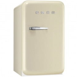 Smeg Single Door Refrigerator, Cream, 50's Retro Style, Energy Rating D