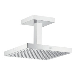 Hansgrohe 24 x 24 1jet Overhead Shower with Ceiling Connector