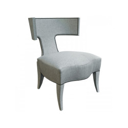 Donghia Klismos Upholstered Chair Donghia Klismos Upholstered Chair 07051-001