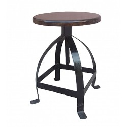 Induscraft Industrial Iron Stool With Beautiful Bar  PRD21530PRD21530PRD21530DSCN6841copy-550x400.jpg
