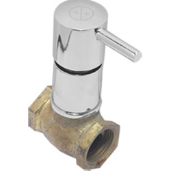 RN Valves & Faucets Rose Flush Cock 11