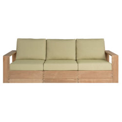Sutherland Poolside Elevated Three-seat Sofa poolsideplinth_3seat_front.jpg