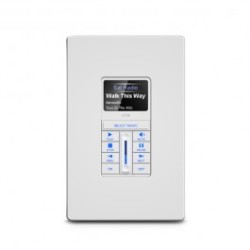 RTI Kx1 1.2 Inch In-wall Audio Distribution Keypad kx1_white.jpg