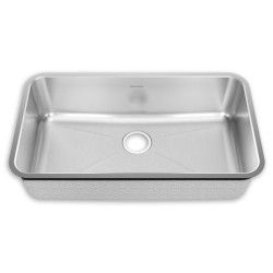 American Standard Stainless Steel Undermount 32-3/4 Inch by 18-3/4 Inch 1-Bowl Kitchen Sink