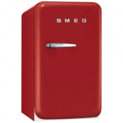 Smeg Single Door Refrigerator, Red, 50's Retro Style