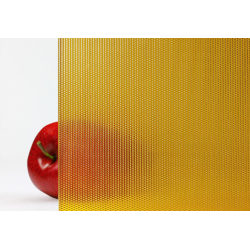 Bendheim Honey Textured Colored Architectural Glass honey-Pointal-laminated-colored-glass-663x460.jpg