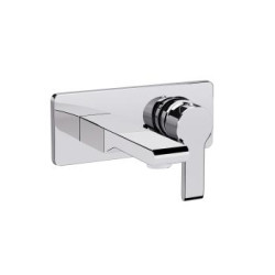 Singulier Single Control Wall-Mount Lav Faucet Trim