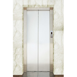 Johnson Lifts & Escalators Sukranti Stainless Steel Door Johnson Lifts & Escalators Sukranti Stainless Steel Door