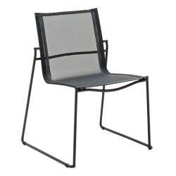 Gloster Asta Stacking Chair (meteor / Grey) large