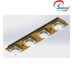 Swelcom Recessed Mounted Rectangle Fitting 0060/LED/28W/S id-0060-s_1_1
