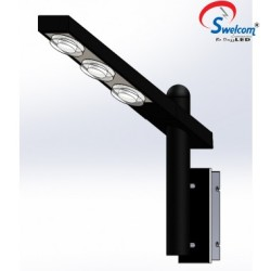 Swelcom Pathway Lights 1770B/LED/21W/R id-1770b-r-21w