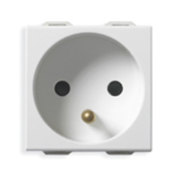 Vimar 2P+E 16A French outlet white Vimar 2P+E 16A French outlet white 9212