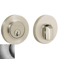 Baldwin Contemporary Deadbolt-8244.152 152-matteantiquenickel