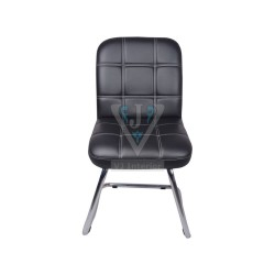 VJ Interior The Independencia Visitor Chair With Fix Frame In Black Color 1-10-1200x1200.jpg
