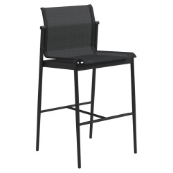 Gloster 180 Bar Chair (meteor / Anthracite) large