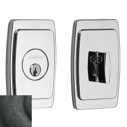 Baldwin Palm Springs Deadbolt-8250.402 402-distressedoilrubbedbro
