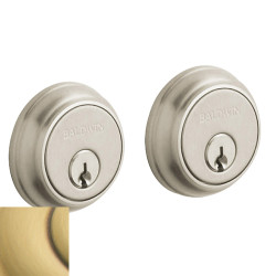 Baldwin Traditional Deadbolt-8021.060 060-satinbrassbrown