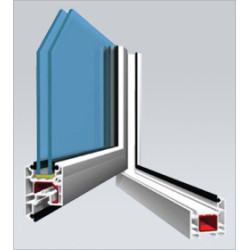 Veka AD58 Casement Door (Outwards opening) System IMAGE