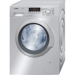 Bosch Serie-4 7 kg, 1200rpm, Silver Front Load Washing Machine Classic Range 4 WAK24268IN Frontloader 60 cm