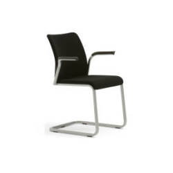 Steelcase Reply Sled Base Chair – Upholstered Back And Seat