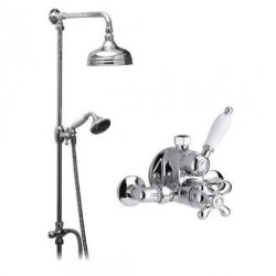 Vado Majestiq Traditional Thermostatic Shower Valve Package With Handset