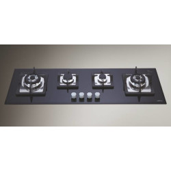 Elica Mfc Plus Built In Hob QJC 4 B 120 CI DX N  Mfc Plus Built In Hobs