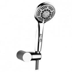 Benelave 5 Flow Hand Shower(Abs) With On Off Fiunction With Tube And Hook