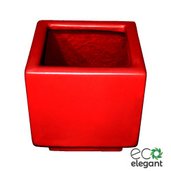"Eco Elegant Frp Square Planter 12"" Red dj1cc4ovzy.jpg"