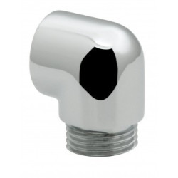 Vado Bath Shower Mixer Extension Elbow For Use With Bath Shower Mixer To Extend Distance Between Hose Connection And Bath Tub In Case Of Protruding Pop-Up Waste