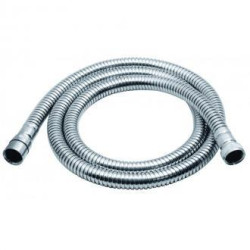 Vado Chrome Plated Brass Large Bore Shower Hose 150cm