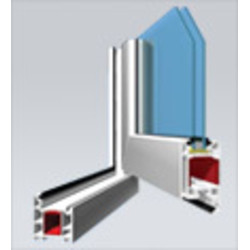 Veka AD58 Casement Door (Inwards opening) System