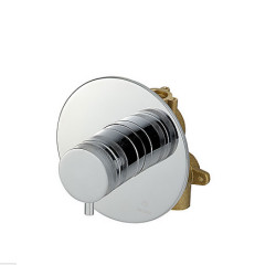 Zazzeri Store Cancealed Thermostatic Mixer - One way - Complete Cancealed thermostatic mixer - One way - Complete