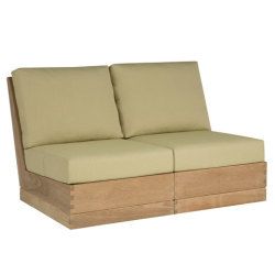 Sutherland Poolside Elevated Armless Two-seat Sofa poolsideplinth_armless2seat_quarter_.jpg