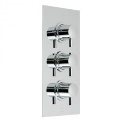 Vado Celsius Wall Mounted Concealed 3 Handle Thermostatic Valve
