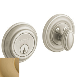 Baldwin Traditional Deadbolt-8231.033 033-vintagebrass