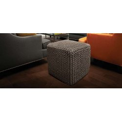 Anji Mountain Gray Jute Pouf Square pouf-jute-gray.jpg?v=1446341996